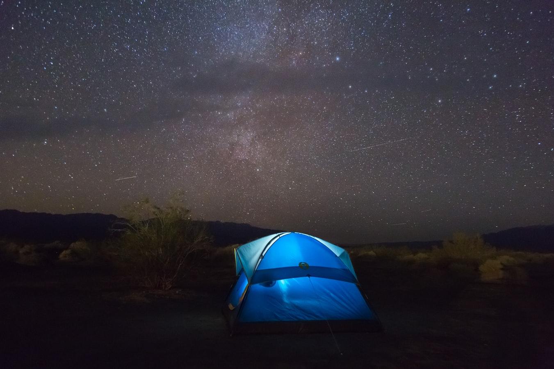 Tent Milky Way