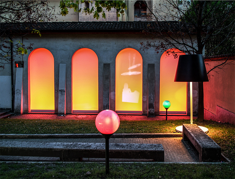 Metis Lighting Acieloaperto s punti di luce Milan Exhibition Outdoor Lightingdesign THUMB