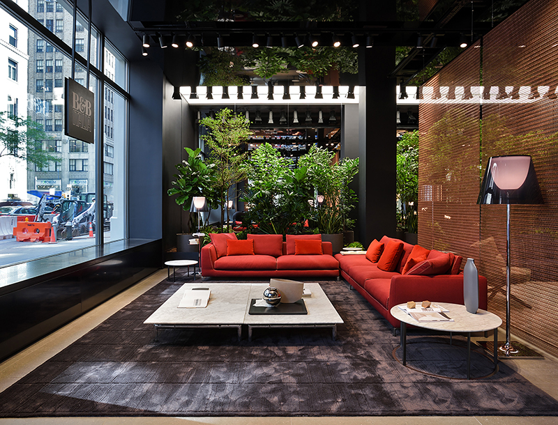 Metis Lighting B&B ITALIA Flagship store New York Retail lighting design THUMB