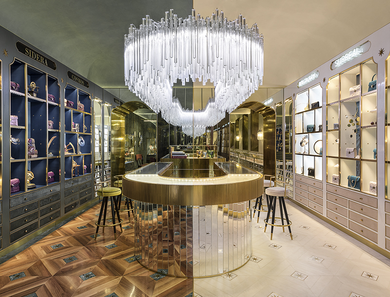 Metis Lighting Bulgari Flagship Boutique Via Condotti Rome Retail lightingdesign THUMB 1