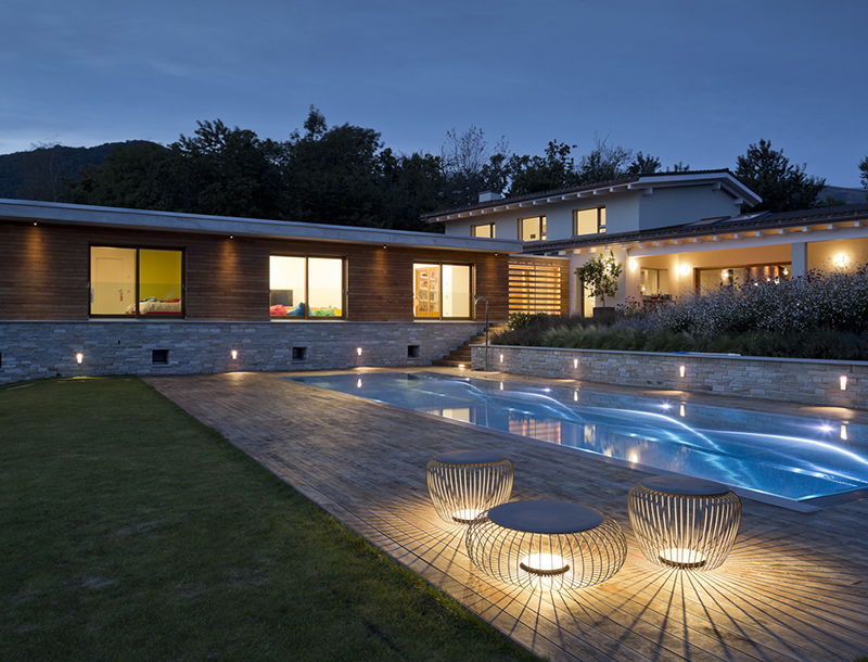 Metis Lighting Villa Lugano Residential Exterior lighting design THUMB