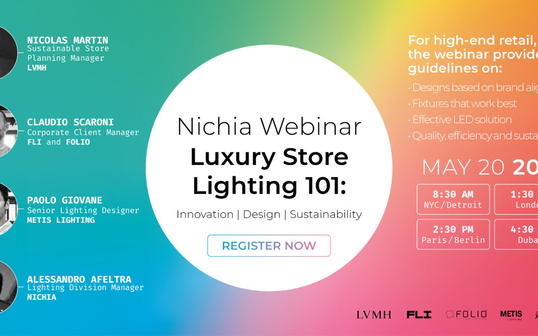 Lighting High-End Retail Stores: Webinar on May 20