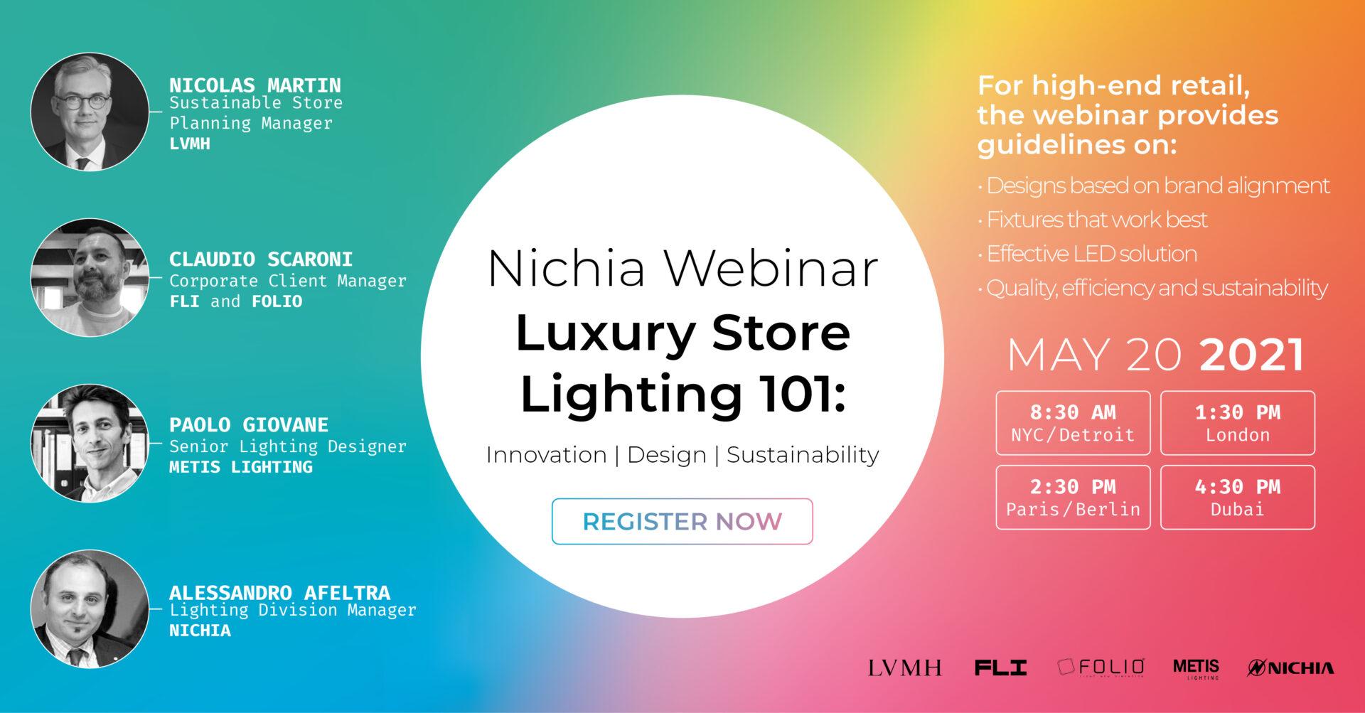Nichia Webinar Luxury Store Lighting